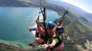 Duovlucht paragliden – Frankrijk