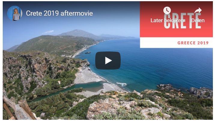 Filmpje vakantie op Kreta