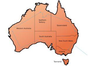 Mijn geplande reisroute in Australië