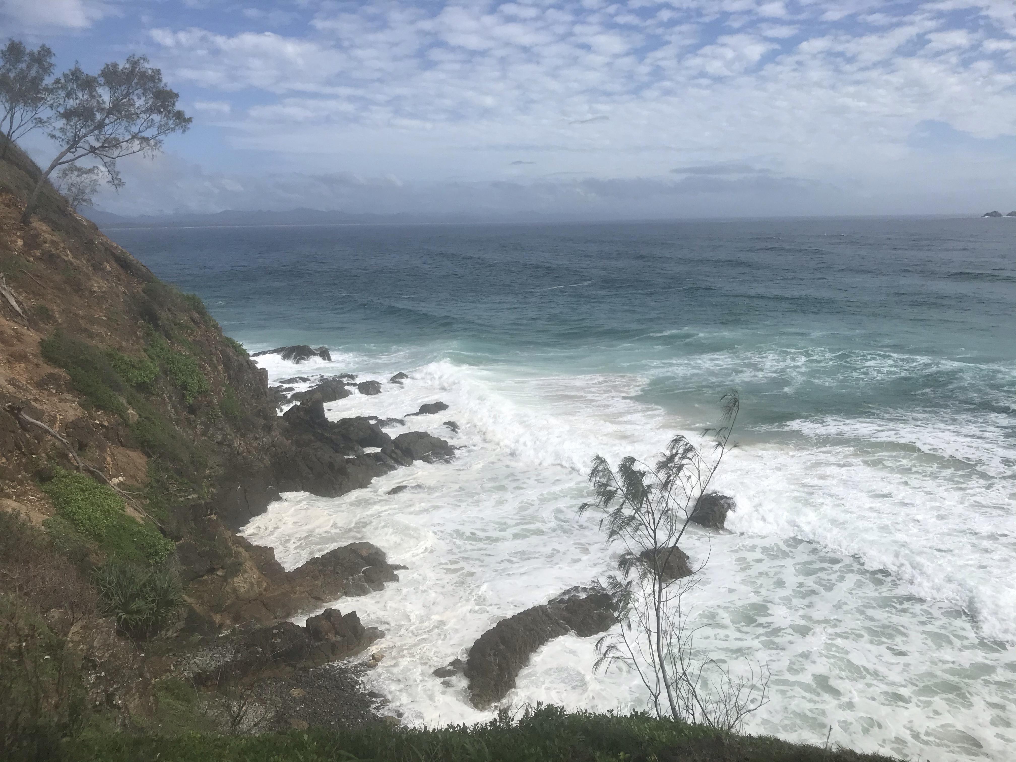 AUS (8) – Storm in Yamba en op pad in Byron Bay