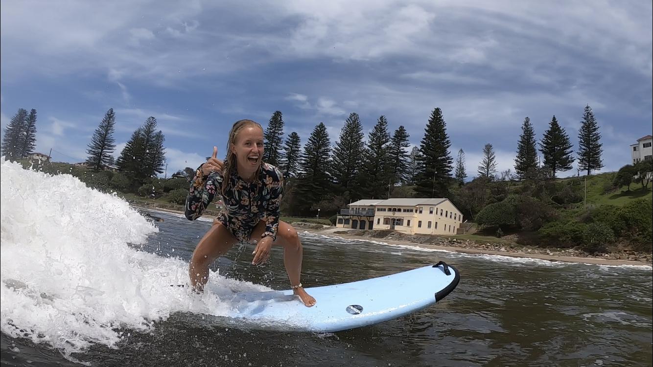 AUS (10) – Surfen met dolfijnen in Yamba