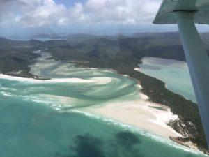AUS (13) – Agnes Water/ 1770 en scenic flight in Airlie Beach