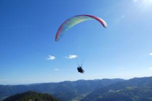 Tandemvlucht paragliden – Vogezen, Frankrijk